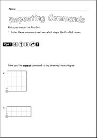 Repeating sheet