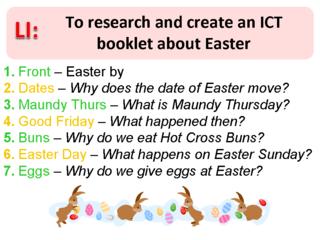 LI for Easter Book