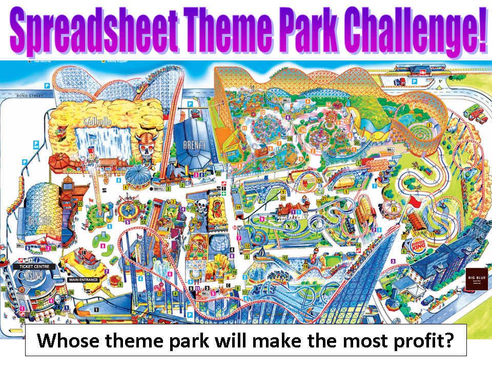 examples of theme parks