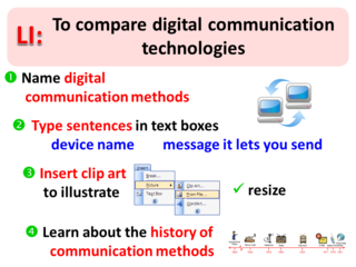 LI for Digital Communication Poster
