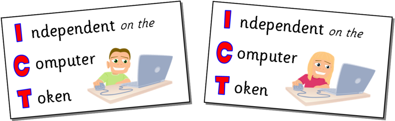Independent on the computer tokens