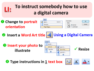 LI for Camera Instructions