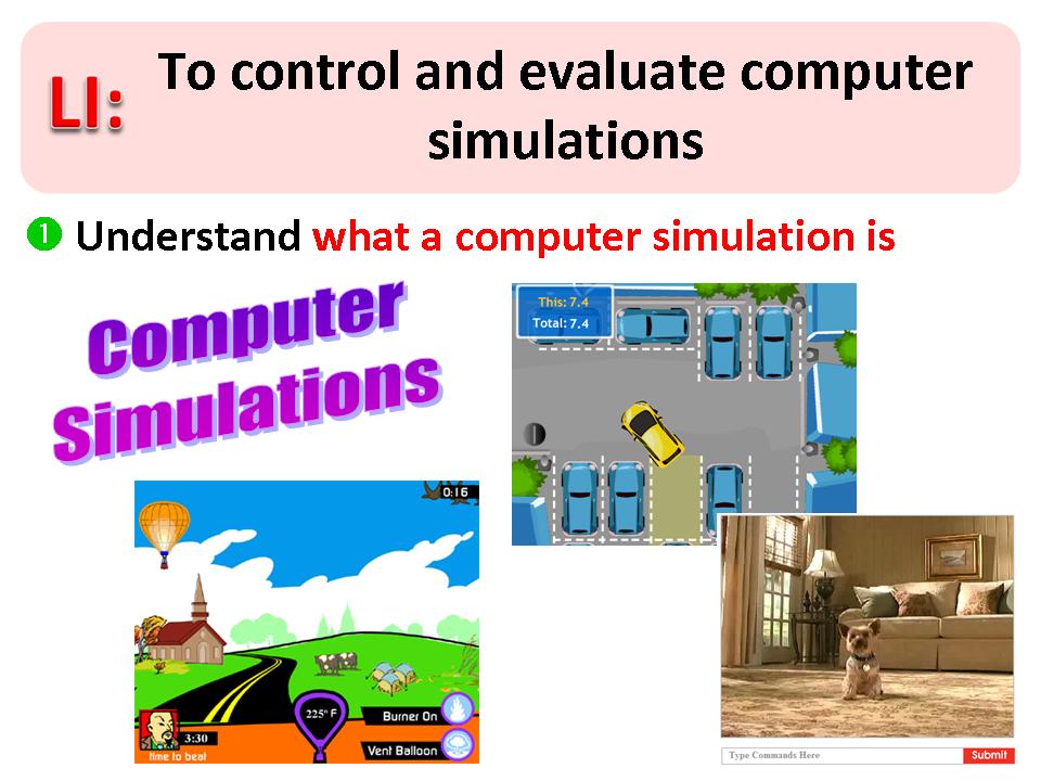 Simon Haughton's website: Simulation Software