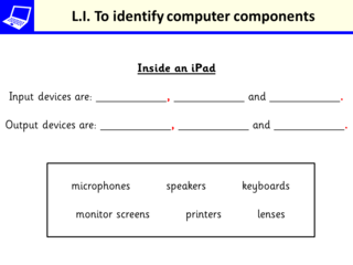 LI for Parts of a computer 2