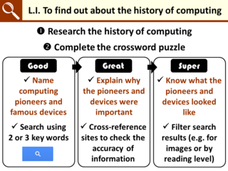 LI for the history of computing crossword