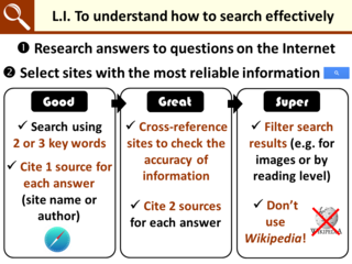LI for searching quiz
